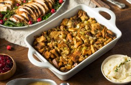 Homemade Thanksgiving Turkey Stuffing