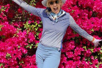 Felice Shapiro in golf clothes