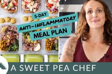Meal plan youtube thumbnail