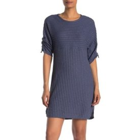 Max Studio Rib Knit Sweater Dress $34.97