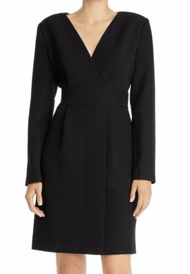 Donna Karan Faux Wrap Dress $158.00