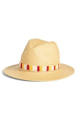 Something Navy Panama Hat $49
