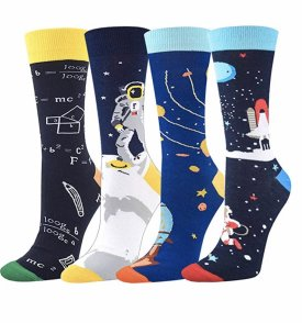 Seafirst Novelty Colorful Casual Cotton Socks $11.98
