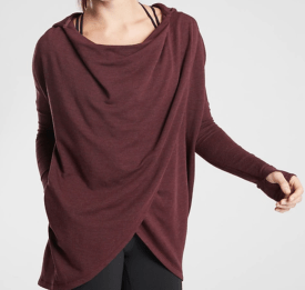 Athleta Wrap Sweatshirt $89
