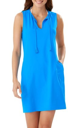 Pearl Cover-Up Dress $125
