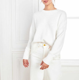 Organic Cotton Boyfriend Sweater $39.90