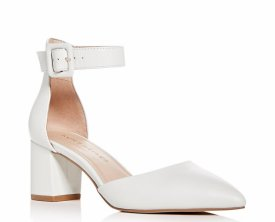 Kurt Geiger Burlington Ankle Strap Pointed Toe Pump $72.00