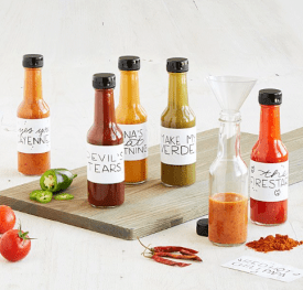 Make Your Own Hot Sauce Kit $40