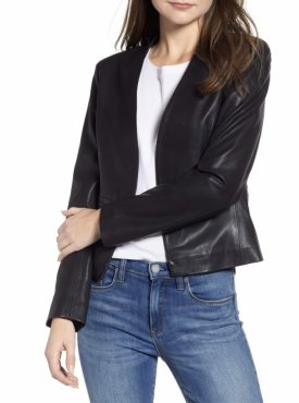 BlankNYC Faux Leather Blazer $98.00