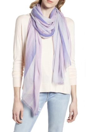 Nordstrom Yarn Dyed Stripe Wrap