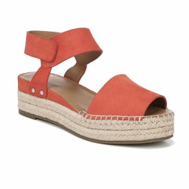 Sarto By Franco Oak Platform Wedge Espadrille $108.00