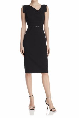 Black Halo Jackie Sheath Dress $375.00