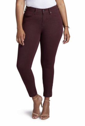 Curves 360 By NYDJ Boost Released Hem Skinny Jeans $77.40