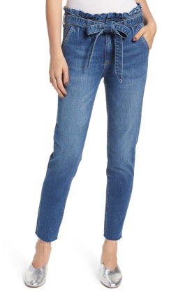 Prosperity Denim Paperbag Waist Jeans $72.00