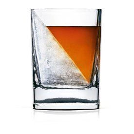Whiskey Wedge and Glass $25