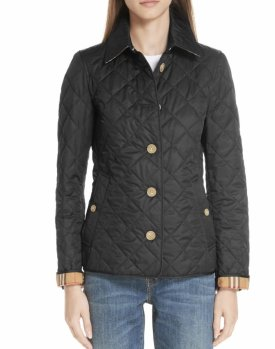 Burberry Frankby 18 Quilted Jacket $590.00