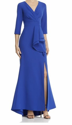 Eliza J Pleat Front Gown $208.00