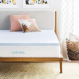 Linenspa Infused Memory Mattress Topper $39.99
