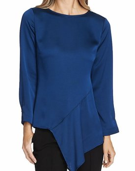 Vince Camuto Hammered Satin Blouse $62.30