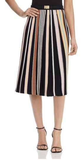 Tory Burch Striped Knit Skirt