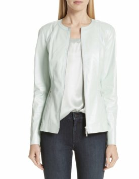 Lafayette 148 New York Janella Leather Jacket