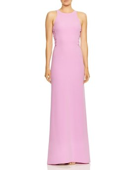flattering neck gown
