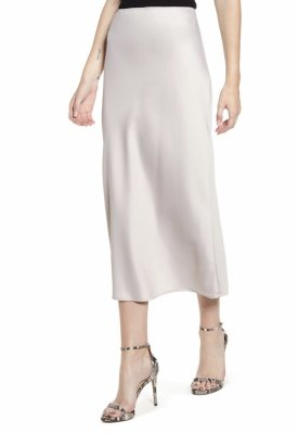 TopShop Matte Satin Bias Cut Skirt $55.00
