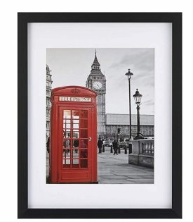 One Wall Tempered Glass Picture Frame $14.99