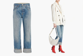 rag & bone Maya High-Rise Ankle Straight Jean