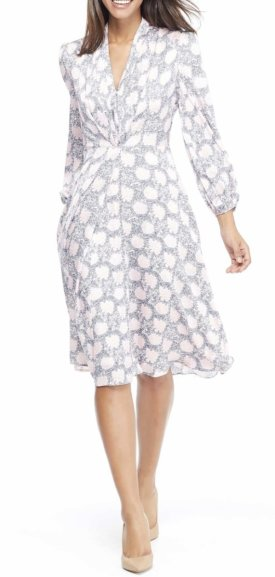 Gal Meets Glam Collection Lizzie Floral Dress
