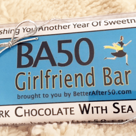 BA50 Girlfriend Bar - Dark Chocolate w/Sea Salt
