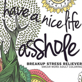 Have a Nice Life... Stress Relieving Coloring Book