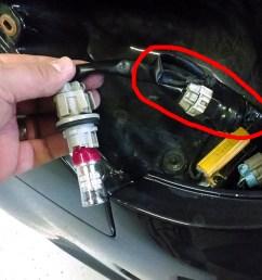 350z headlight wiring harness wire [ 1200 x 676 Pixel ]