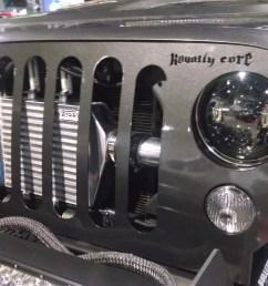 jeep with jw speaker 8700 led headlights [ 4320 x 2432 Pixel ]