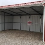 A2303 12x20x9x7 Animal Shelter Better Barns