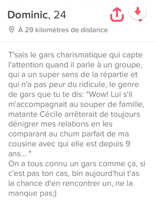 Description Site De Rencontre Drole : description, rencontre, drole, Descriptions, Tinder, Drôles, Amusantes