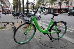 Gobee bicycle in Paris