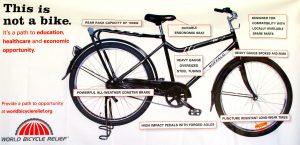 The World Bicycle Relief's Buffalo Bike