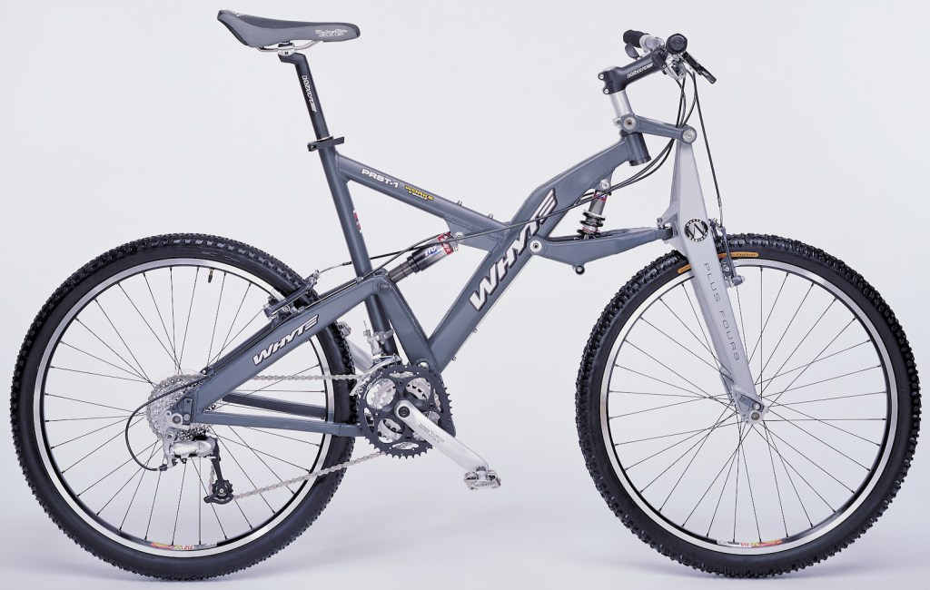 Image of Whyte PRST-1 full suspension mountain bike