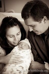 Denton birth photo