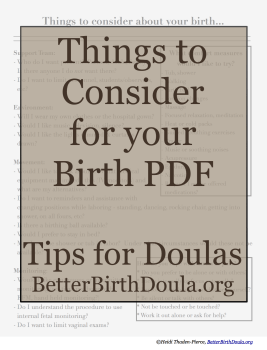 Things to Consider PDF