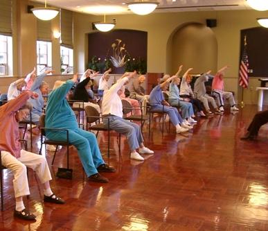 New exercise class for the elderly  betterbodypilates