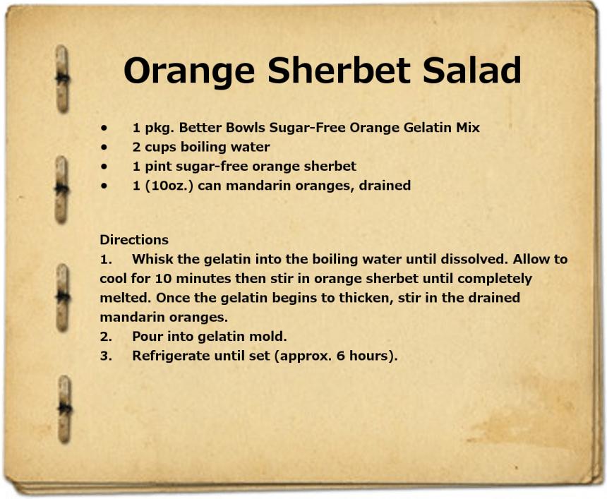OrangeSherbetSalad