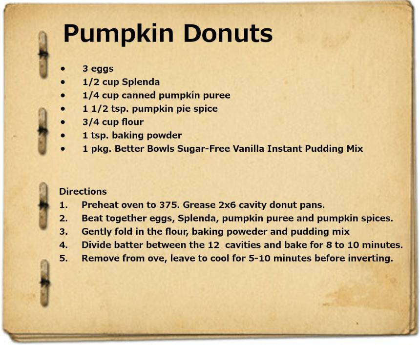 PumpkinDonuts
