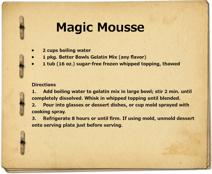 Magic Mousse