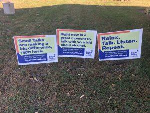 Small Talks Campaign Yard Signs