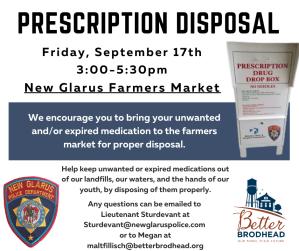 Prescription Disposal Flyer