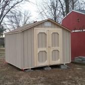 10x12x9 6'sidewalls Barn Shed