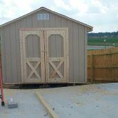10x10x10 6'sidewalls Barn House