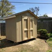 8x6x8 6'sidewalls Barn House